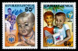 Senegal, 1979, International Year Of The Child, IYC, UNICEF, United Nations, MNH, Michel 699-700 - Senegal (1960-...)