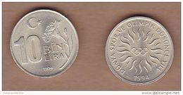 AC - TURKEY 10 000 LIRA 1994 WORLD SPORTS AND OLYMPIC YEAR COMMEMORATIVE COUN UNCIRCULATED - Türkei