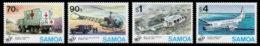 Samoa, 1995, United Nations 50th Anniversary, Peacekeeping, MNH, Michel 817-820 - Samoa