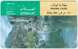 U.A.E. A-506 Optical Etisalat - Landscape, Creek - Used - Verenigde Arabische Emiraten
