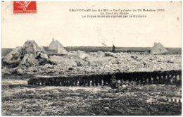 14 GRANDCAMP-les-BAINS - Le Cyclone Du 28 Octobre 1909 - Le Pont Du Hâble - La Digue Mise En Ruines Par Le Cyclone - France