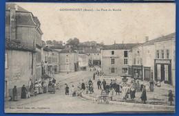 GONDRECOURT    La Place Du Marché    Animées     écrite En 1916 - Gondrecourt Le Chateau
