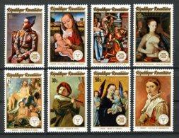 Rwanda, 1974, UPU, Internaba, Stockholmia, United Nations, Paintings, MNH, Michel 641-648A - Rwanda