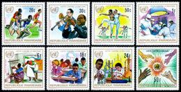 Rwanda, 1972, Fight Against Racism, United Nations, MNH, Michel 529-536A - Rwanda