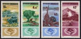 Rwanda, 1965, International Cooperation Year, United Nations, MNH, Michel 125-128A - Unclassified