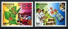 Rwanda, 1979, Philexafrique, Communication, MNH, Michel 982-983 - Unclassified