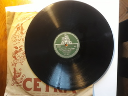 Cetra   -  1953.   Serie DC  6819.   Creola Del Mocambo - 78 G - Dischi Per Fonografi