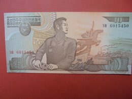 COREE(NORD) 10 WON 1998 PEU CIRCULER/NEUF - Corée Du Nord
