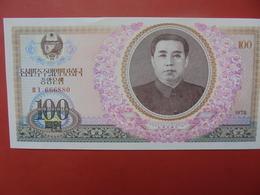 COREE(NORD) 100 WON 1978 PEU CIRCULER/NEUF - Corée Du Nord