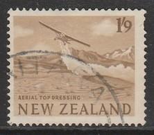 New Zealand 1960 -1963 Local Motifs 1'9 Sh'P Yellowish Brown SW 421 O Used - New Zealand