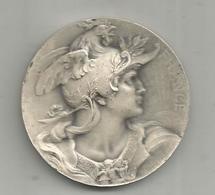 Médaille , Comité Central Des Chambres Syndicales ,  FRANCE ,  Mercure , 2 Scans,  Frais Fr 1.95 E - Professionnels / De Société