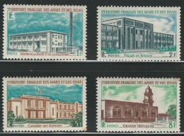 Afars And Issas, 1969, Public Buildings, Batiments, MNH, Michel 20-23 - Afars Et Issas (1967-1977)