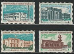 Afars And Issas, 1969, Public Buildings, Batiments, MNH, Michel 20-23 - Other