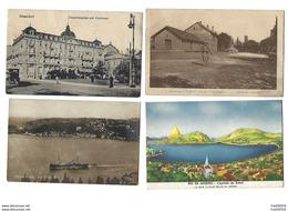 PAYS ÉTRANGERS - Joli Lot De 60 CPA - Toutes Différentes - 5 - 99 Postcards