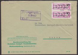 NEUBRANDENBURG DDR ZKD B10(3000) Regierung Der DDDR, Ministerium Land- U. Forstwirtschaft  Nach Waren - Service