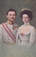 Charles I  Or  Karl I  Of Austria + Zita Of Bourbon-Parma , Austro-Hungarian Empire - Familias Reales