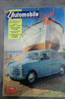 L'automobile Magazine N°84 Avril 1953 - Spécial Pâques - Auto