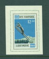 Albania, 1963, Olympic Winter Games Innsbruck, Ski Jump, Sports, MNH, Michel Block 20 - Albanien