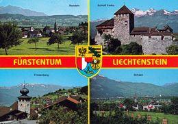 1 AK Liechtenstein * Ansichten Von Nendeln - Schloß Vaduz - Triesenberg Und Schaan * - Liechtenstein