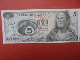 MEXIQUE 5 PESOS 1971 PEU CIRCULER/NEUF - México