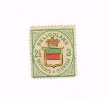 Réimpression De Hambourg.Yvert 16.(x).No Gum.Neuf Sans Gomme. - Heligoland (1867-1890)
