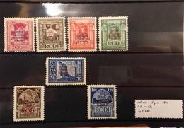 Isole Italiane Dell'egeo 1931 Congresso Eucaristico S.6 Completa  Linguellata E Nuova ** Cod.col.031 - Ägäis