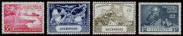 Ascension, 1949, UPU, Universal Postal Union, United Nations, MNH, Michel 57-60 - Ascension (Ile De L')