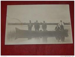 A IDENTIFIER  -     Carte Photo D'un Groupe De Pêcheurs - A Identifier