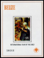 Belize, 1979, International Year Of The Child, IYC, United Nations, MNH Perforated, Michel Block 24 - Belice (1973-...)