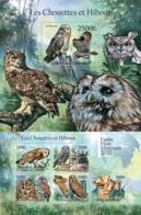 Comoros, 2011. [cm11121] Owls (s/s+bl) - Owls