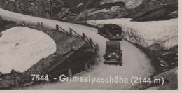 OUDE POSTKAART ZWITSERLAND - SCHWEIZ -    GRIMSEL - AUTO - BE Berne