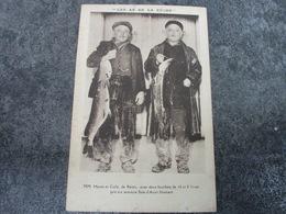 MM. HAVET Et COLLE Avec Deux Brochets De 16 Et 8 Livres - Reims