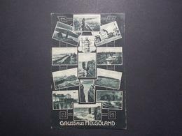 Carte Postale - ALLEMAGNE - Gruss Aus Helgoland - Multi Vues (2782) - Helgoland