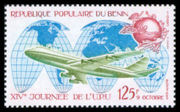 Benin, 1983, World Post Day, UPU, Airplane, Aviation, MNH, Michel 321A - Benin - Dahomey (1960-...)