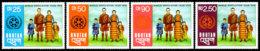 Bhutan, 1974, World Population Year, United Nations, MNH, Michel 601-604 - Bhoutan