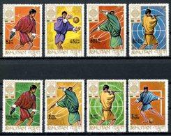 Bhutan, 1968, Olympic Summer Games Mexico, MNH, Michel 233-240A - Bhoutan