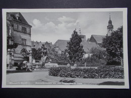 Carte Postale - ALLEMAGNE - Minden I. Westf.Manzelbrunnen Vor Der Regierung U. Dom (2786) - Minden