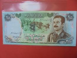 IRAQ 25 DINARS 1986 PEU CIRCULER - Iraq