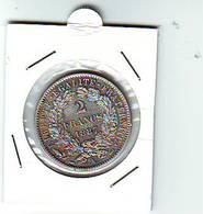 2 Francs CERES - III EME REPUBLIQUE  - 1887 A - ARGENT - état SUP - France