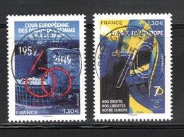 France 2019. Conseil De L'Europe.Cachet Rond Gomme D'oroigine. - Frankreich