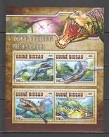 ST856 2016 GUINE GUINEA-BISSAU PREHISTORIC WATER ANIMALS 1KB MNH - Postzegels