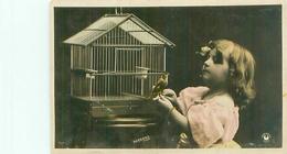 Cp -   Enfants   ,  Cage à Oiseaux          AH1257 - Scènes & Paysages