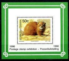 Bophuthatswana, 1990, Animals, Fauna, MNH, Michel Block 5 - Bophuthatswana