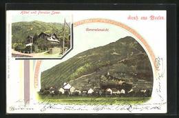 AK Weesen, Hotel Und Pension Speer, Generalansicht - SG St. Gallen