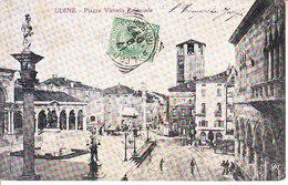 ITALIA - UDINE - Leggi Testo, Animata, Viag. 1907 - 2019-1-154 - Udine