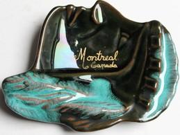 Cendrier Ancien Montréal Canada Mc Master Céramique - Ashtrays