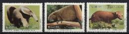 Brazil, 1988, Protected Animals, Fauna, MNH, Michel 2259-2261 - Brésil