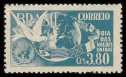 Brazil, 1952, United Nations Day, MNH, Michel 789 - Brésil