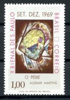 Brazil, 1969, Sao Paolo Biennale, Art, MNH, Michel 1235 - Brésil