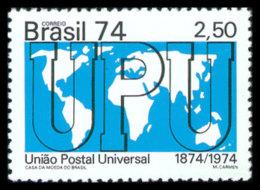 Brazil, 1974, UPU Centenary, Universal Postal Union, United Nations, MNH, Michel 1453 - Brésil